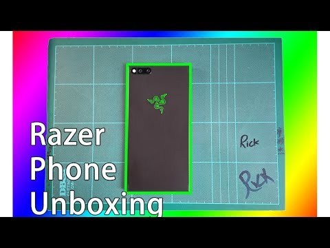 Razer Phone Unboxing! Singapore's First?