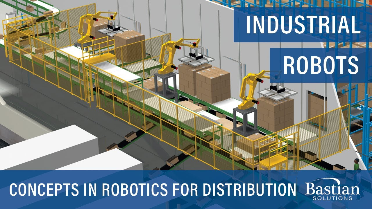 New Concepts in Robotics for Distribution