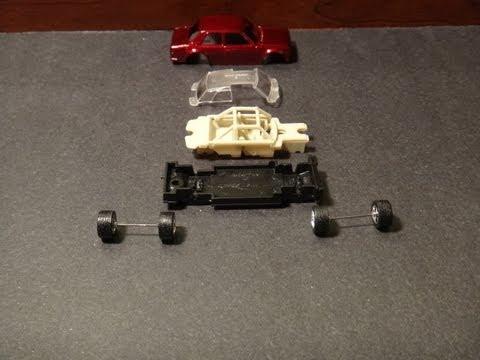Making a Custom Hot Wheels: How To Wheel swap & Paint - Datsun 510 Bluebird