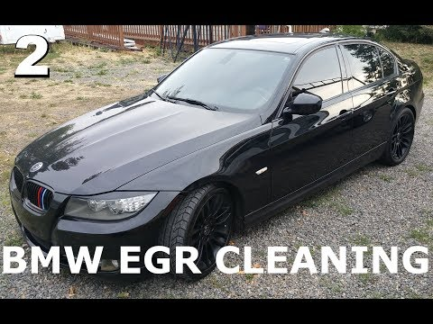 BMW 335D Diesel - EGR Cleaning Part 2