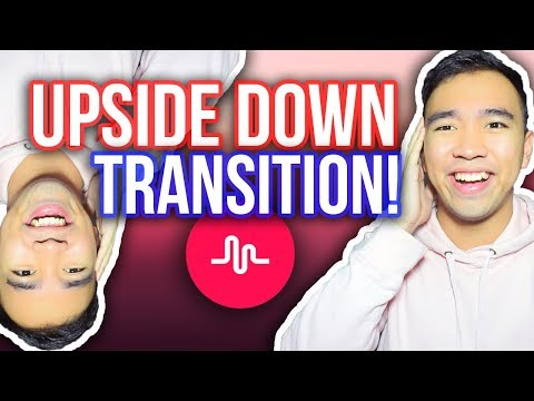 MUSICAL.LY UPSIDE DOWN TRANSITION TUTORIAL! #UpsideDownTransition *NEW*