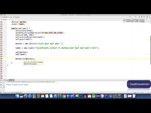 Java Swing 5 - JButton, Layout Manager and Color (Bangla | বাংলা)