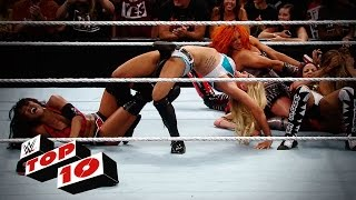 Top 10 Raw moments: WWE Top 10, July 13, 2015