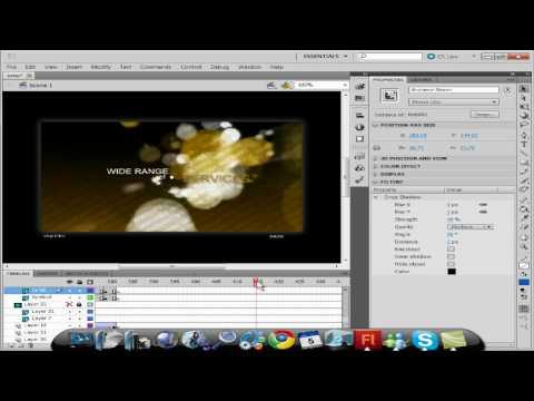 How to make A Intro Adobe Flash CS5