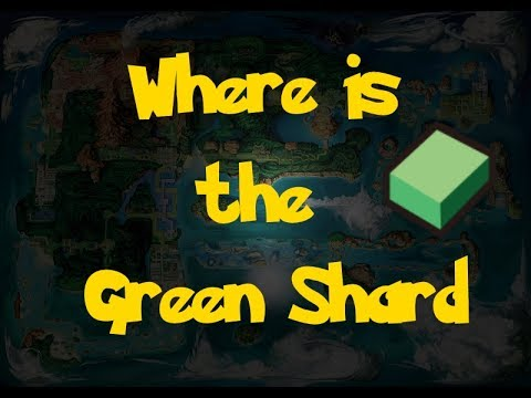Where Is: The Green Shard (Pokemon Alpha Sapphire/Omega Ruby)