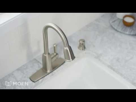 Wellsley One-Handle High Arc Pulldown Kitchen Faucet