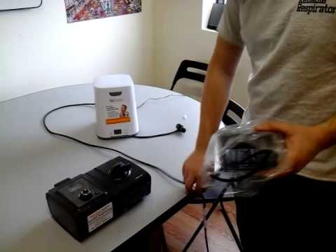 SoClean 2 (setup with System 1 adapter)