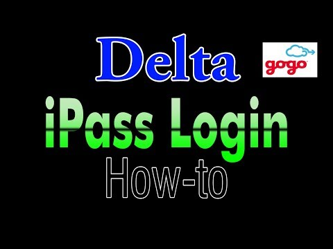 Delta How to use Gogo Wifit with iPass
