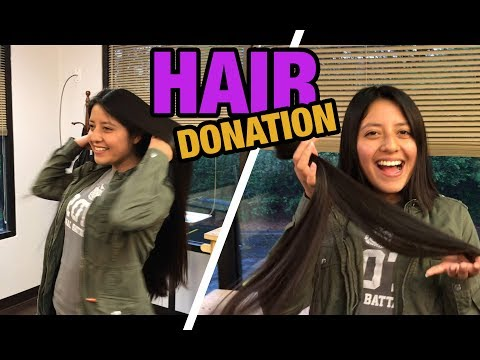 Hair Donation: Anna Cuts Her Hair To Donate For Cancer