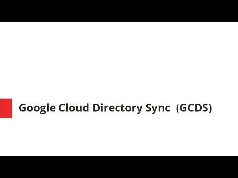 [G Suite tutorials series] Google Cloud Directory Sync (GCDS)