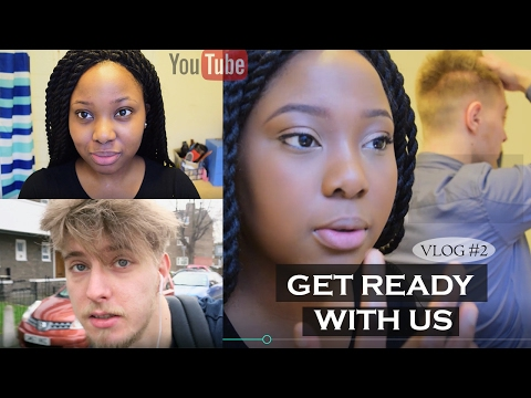 Get Ready With Us - VLOG #2 - Kemi's 25th  Birthday party