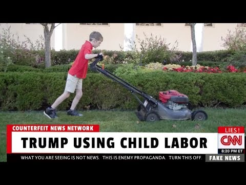 CNN: Trump Using Child Labor 😂