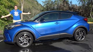 The 2020 Toyota C-HR Is a Quirky Hatchback Crossover Thing
