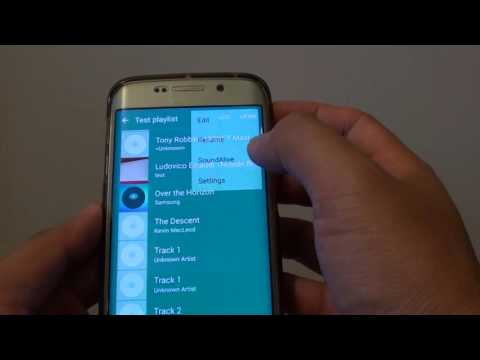 Samsung Galaxy S6 Edge: How to Change Music Playing Speed