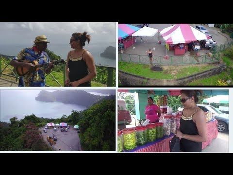 Maracas Lookout with Drone Footage - Taste of D Town