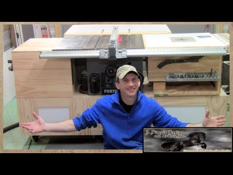 Building a Tablesaw Base Part 2