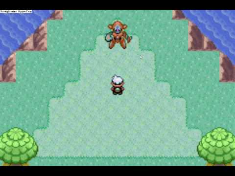 Catching Deoxys in Pokemon Emerald (cheats added!)