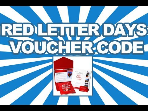Red Letter Days Discount, Voucher Code and Promotional Codes 2014