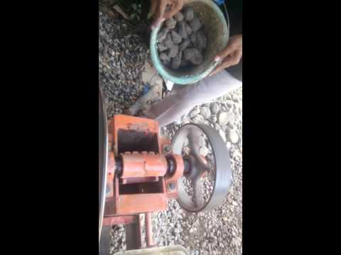 home made jaw crusher
