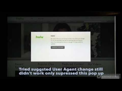 Does Hulu Work on Google TV Browser? Not Yet! - BWOne.com