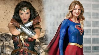 Wonder Woman & Supergirl - These Boots Are Gonna Walk All Over You   official trailer (2017)