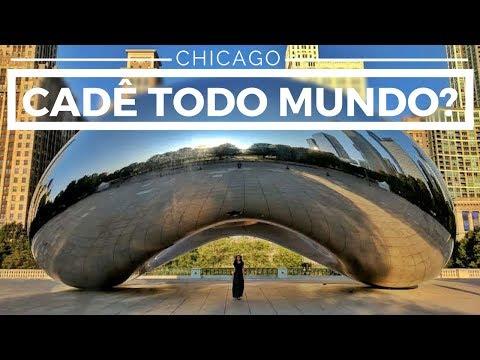 CHICAGO: UM DIA PELO MILLENNIUM PARK