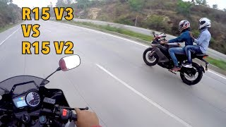 R15 V3 vs R15 V2, Don't buy R15 V2 !!!!! V3 ROCKS   - getplaypk