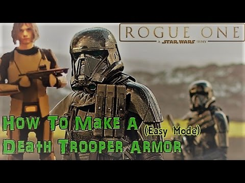 How To Make A Death Trooper Armor (Easy Mode) - Part 1