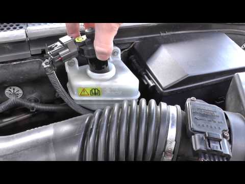 Ford Focus Brake Fluid Top Up Location Video