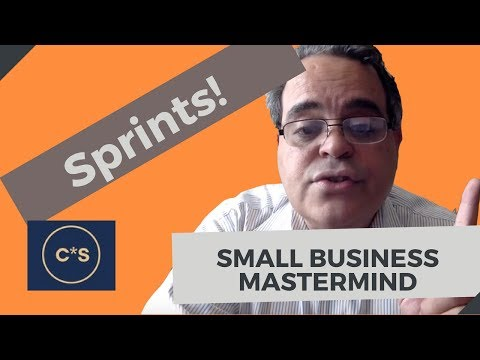 Sprints for Entrepreneurs : Small Business Owners Tips