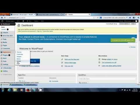 remove html code under wordpress comment box