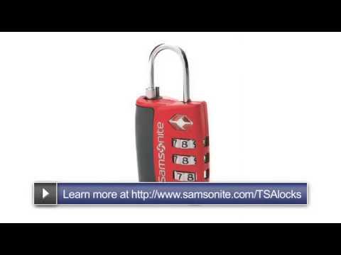 Samsonite TSA Lock