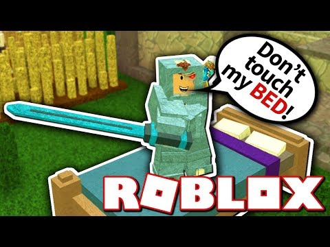 GETTING SUPER OP IN ROBLOX BEDWARS!!