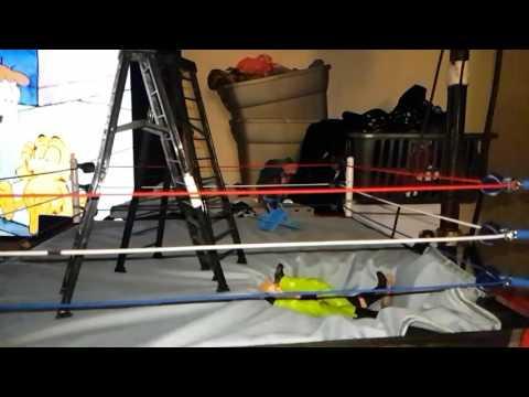 WWE authentic scale ring custom break away floor demo 2