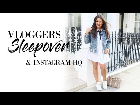 SLEEPOVER & TRIP TO INSTAGRAM HQ