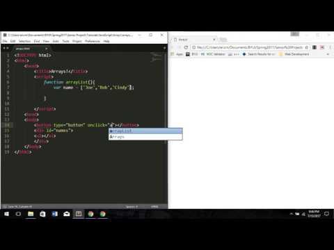 JavaScript Tutorial #9 Array