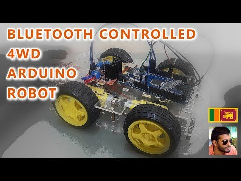 Arduino Project #2 | Bluetooth Controlled 4WD Robot Car