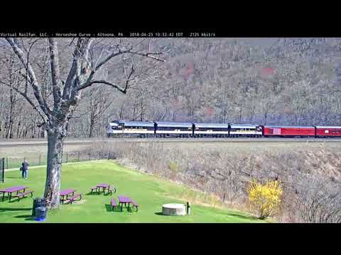 NS Office Car Special at Horseshoe Curve