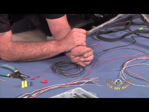Tips on Extending Your Handlebar Wires  |  Fix My Hog