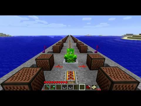Minecraft Note Block Music: Tetris Theme