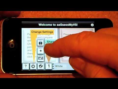 aaSsessMyVS v1.0.2 Help Video (OLD VERSION OF APP - LOOK FOR VERSION 2.x)