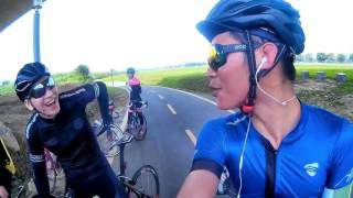 正妹騎單車 120KM 公路車大挑戰