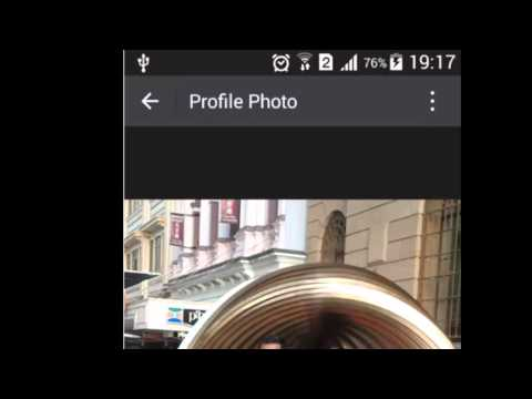 How to change the profile picture in Wechat