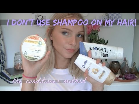 Conditioner Method // I Don't Use Shampoo!!