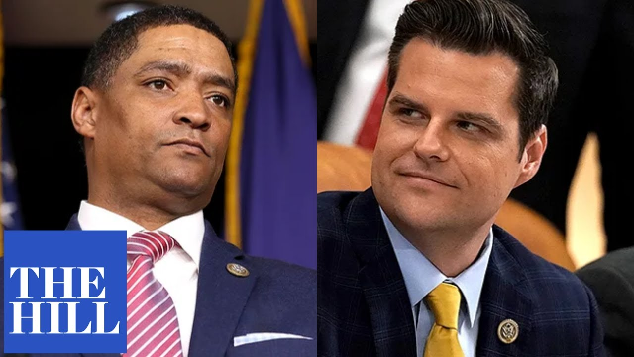FIERY: Cedric Richmond and Matt Gaetz get into HEATED shouting match during House debate