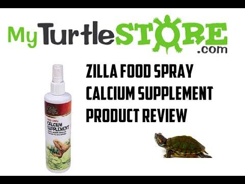 How To Give Your Reptile Calcium - Zilla Liquid Calcium Spray