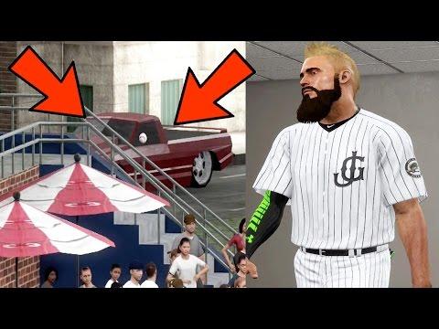 MLB THE SHOW 17 RTTS   HOME RUN HITS A CAR! OMG   EPISODE 16