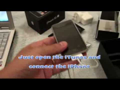 Activate Factory Unlocked iPhone 3GS