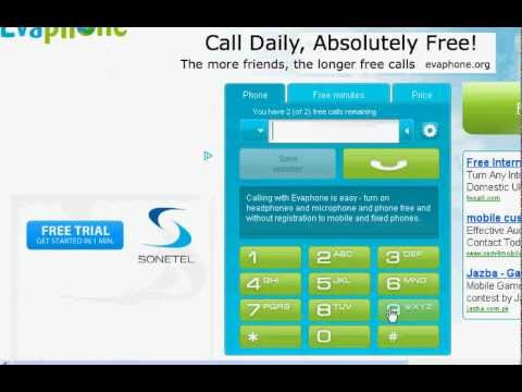 Free Call From PC To Mobile 100% Working Trick