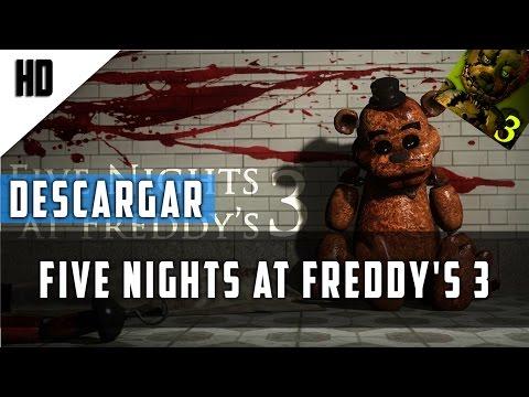 Descarga Five Night at Freddy 3| Portable | MEGA | Gratis